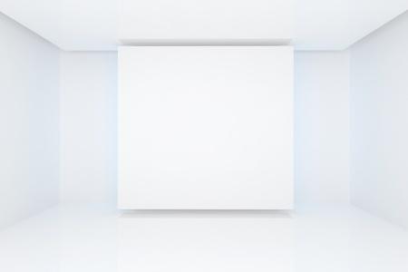 홈 인테리어의 광고에 대한 빈 방 컬러 벽 렌더링. 스톡 사진