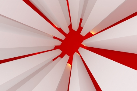 Abstract red for background  photo