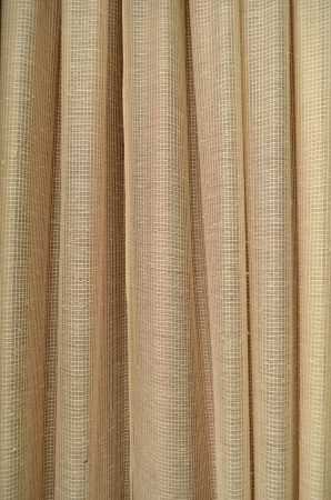 Abstract gold lace blinds window pattern background  photo