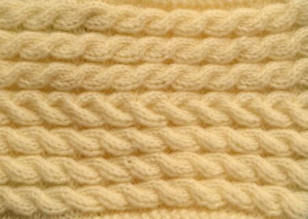 closeup of seamless color knitted fabric texture  photo