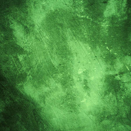 Green background of natural cement varnish technique for Vintage style, abstract texture   photo