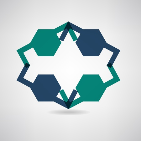 business connecting icon Vector