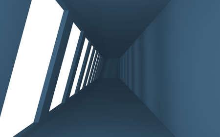 Interior Blue Space photo