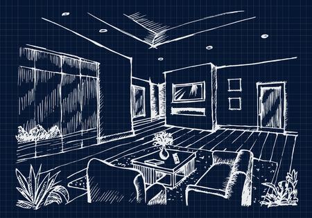Interior Design Lizenzfreie Vektorgrafiken Kaufen: 123RF