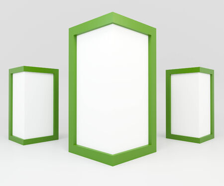 advertise: Blank Green Frame for Advertise