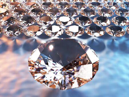solitaire: Fine luxury diamond jewellery, Good choice Stock Photo