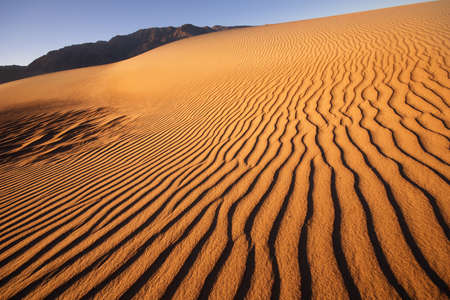 Sand Dunes at Death Valley photo