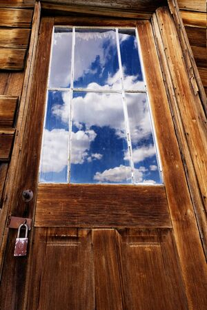 Bodie Ghost Town - Door Stock Photo - 12151461