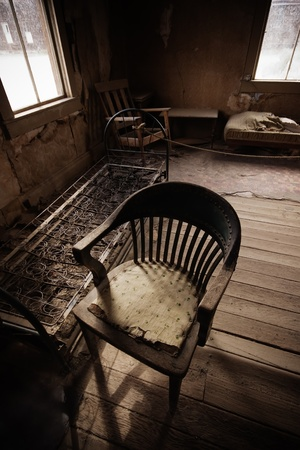 Bodie Ghost Town - Chair Stock Photo - 12151457