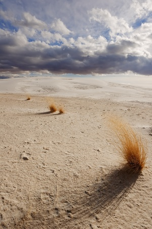 white sands national monument: Stormy Clouds at White Sands National Monument