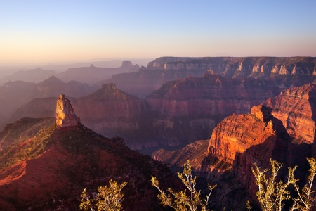 Point Imperial, Grand Canyon National Park Standard-Bild - 12770703