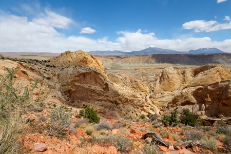 Burr Trail Switchbacks photo