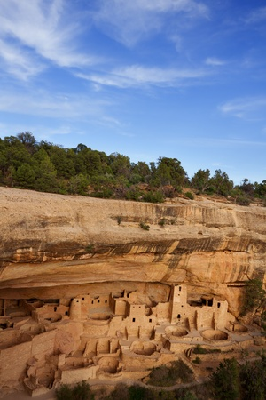 adobe pueblo: Cliff Palace, Mesa Verde National Park