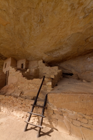 kiva: Balcony House, Mesa Verde National Park Stock Photo