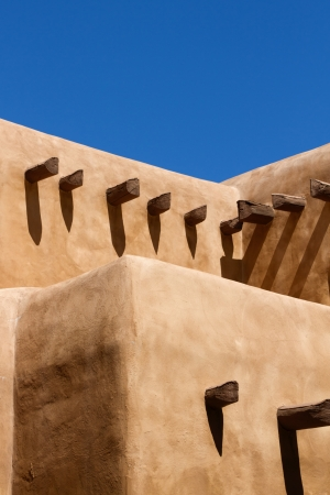 Southwestern Adobe House