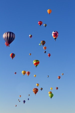 Balloon Fiesta Stock Photo