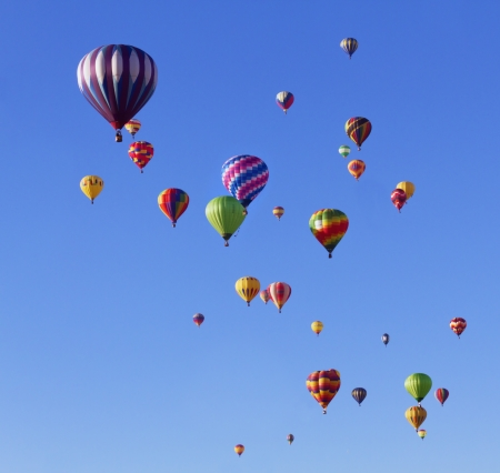 hot air: Balloon Fiesta Editorial