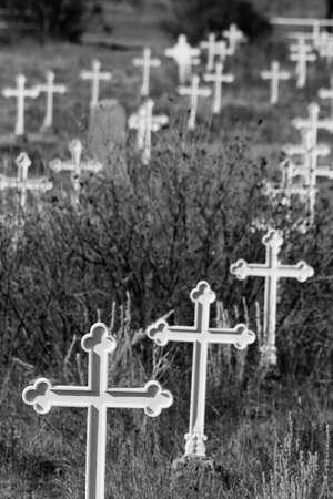 오래된 묘지 스톡 콘텐츠