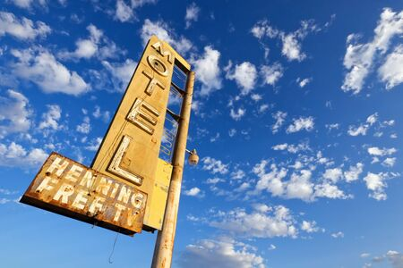 Old Motel Sign Stock Photo - 17213480