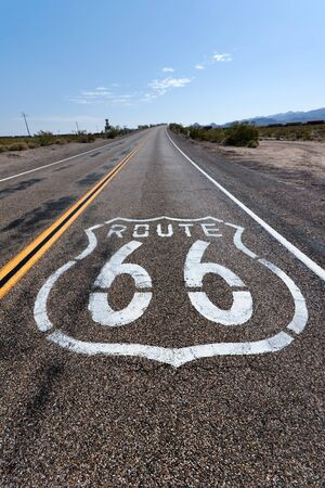 Route 66 in California photo