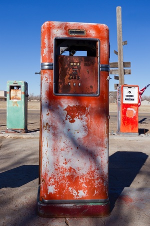 Old Gas Pumps Stock Photo - 17569508
