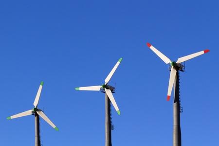Wind Turbines in Altamont Pass Wind Farm, California
