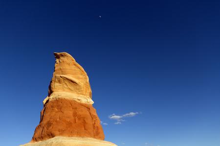 ut: Sandstone rock formation at Devils Garden Grand StaircaseEscalante National Monument UT.
