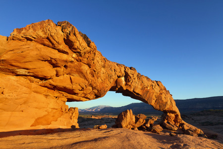 Sunset Arch Grand StaircaseEscalante National Monument UT