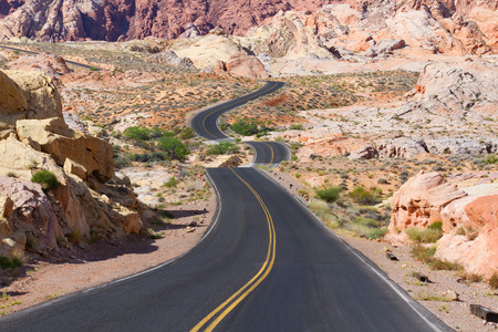 nevada: Desert Winding Road
