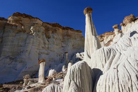 ghost rock: Wahweap Hoodoos, Grand Staircase-Escalante National Monument, Utah Stock Photo