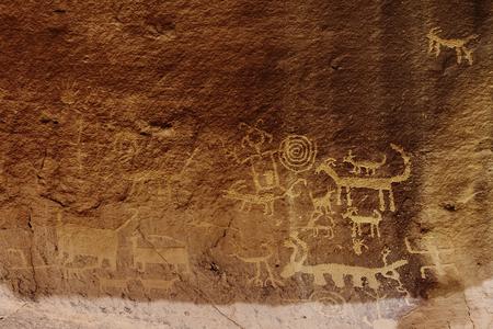 Una Vida Petroglyphs, Chaco Culture National Hoistoric Park, New Mexico