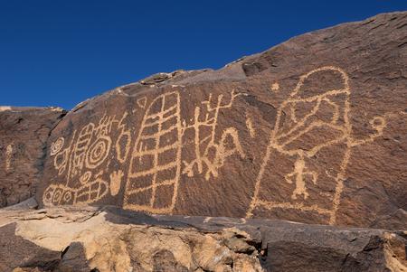 anasazi: Anasazi Ridge Petroglyphs near St. George, UT