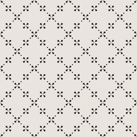 Seamless geometric pattern with intersecting diagonal crosses Illustration