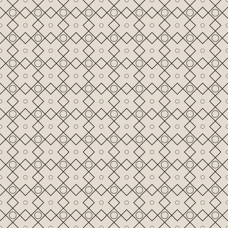 intersecting: Modern seamless geometric pattern. The texture of the tiles intersecting with bubbles. vector