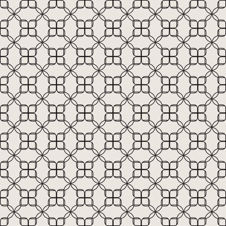 Мodern seamless geometric pattern. Texture with overlapping rhombuses and different shapes