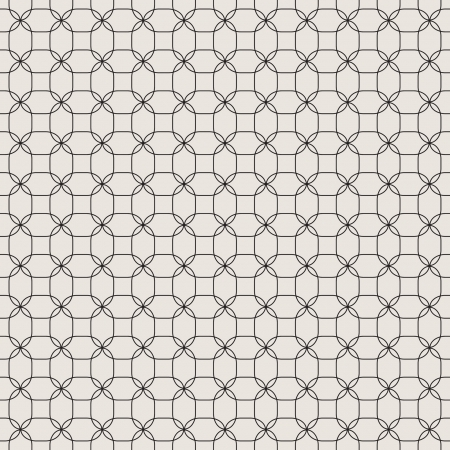 Мodern seamless geometric pattern. Texture with intersecting ovals and petals. vector