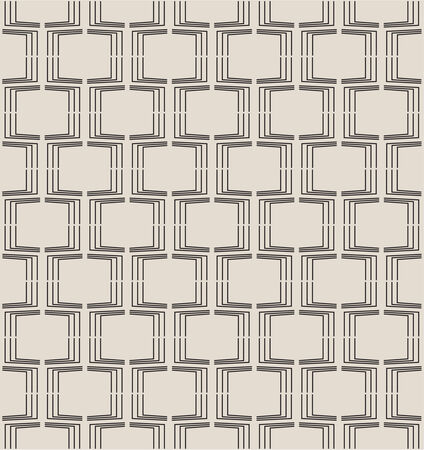 Seamless geometric pattern. Modern texture with torn boxes. vector
