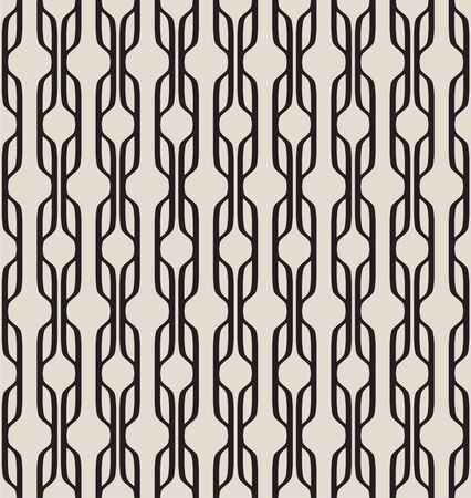 Seamless geometric pattern. Modern texture with abstract figures. Curtain. vector