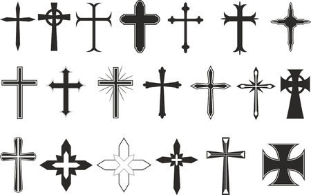 celtic cross: Cross symbols