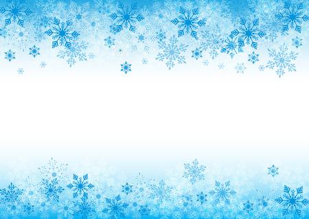 winter achtergrond voor ontwerp met kopie ruimte Stock Illustratie