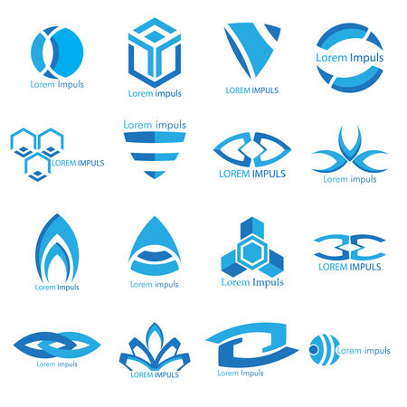Business Icons Set.  Vector Illustration, Graphic Design Editable For Your Design. Vector