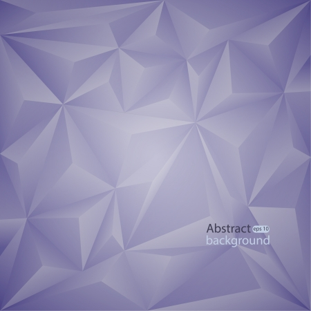 Modern abstract background with volume triangles. vector Illustration