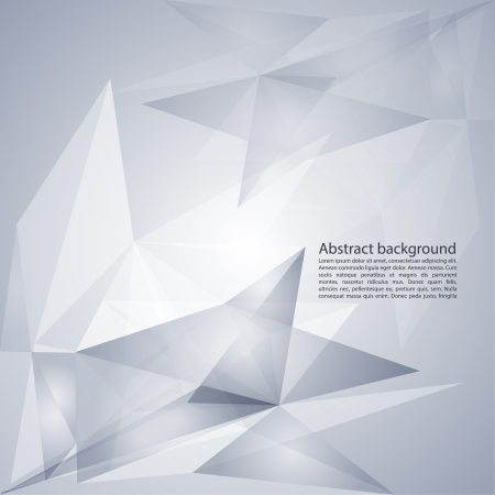 Modern abstract background of geometric shapes. In cold tones. Design Layout for Your Business