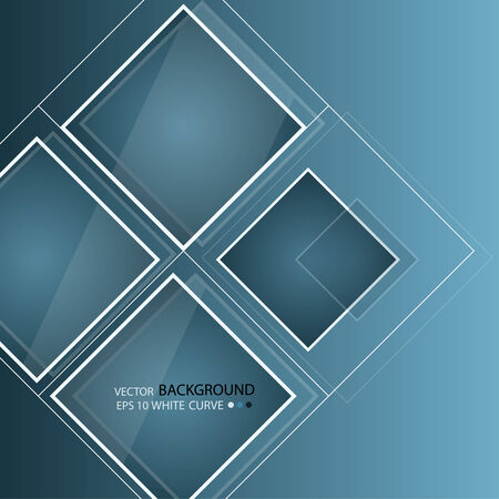 workpiece:  Blue abstract background in techno style. Modern business blank for presentation. Vector workpiece.