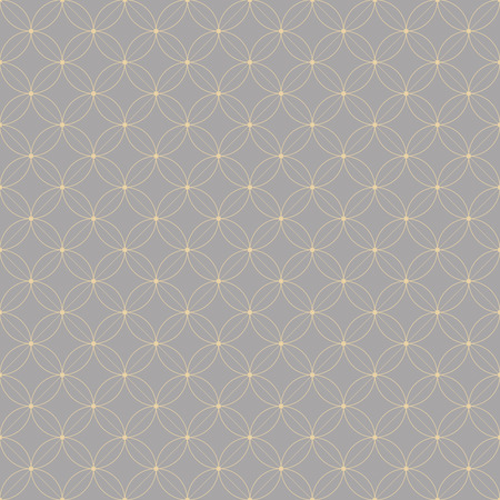Geometric seamless pattern with elements of the petals and the points. design for a background, booklets, wallpaper and other design Vector