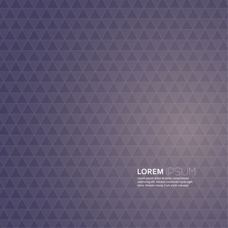 Abstract back background with a pattern of geometric shapes. With the effect of the spectrum and an copy place. Vector. for advertising, classified ads, layouts, web, internet, website, cover, booklet, magazine, banner Stock Vector - 26491380