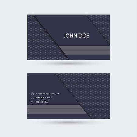 substrate: Modelo de la tarjeta de negocios moderna con rayas diagonales y verticales s�lidas y el sustrato inferior de estricta textura