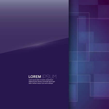 classified ads: Purple glossy blank with a background texture for advertising, classified ads, layouts, web, internet, website, with frame for text Illustration