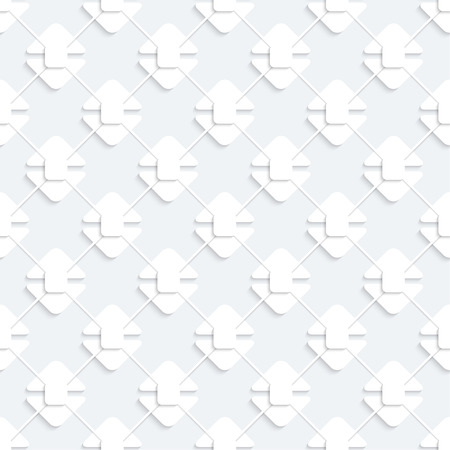 Modern seamless pattern with white geometricheskmi figures separated from each other and intersecting lines Stock Vector - 26616956