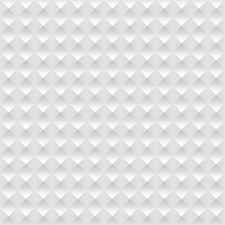grid paper: Modern seamless pattern with white geometricheskmi figures. volume of the pyramid